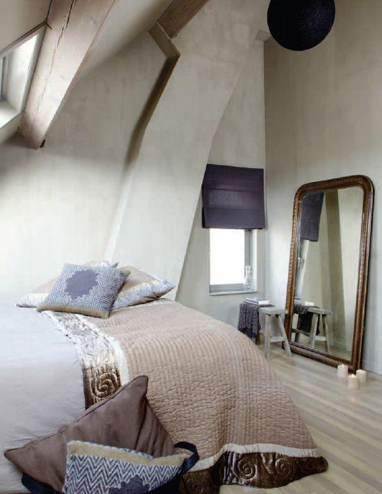 Muren schilderen met kalkverf - Ideeen voor de slaapkamer ...