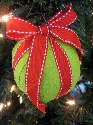 Surprise Ball Christmas Ornaments Alpha Mom Christmas Diy Diy Christmas Ornaments Christmas Celebrations