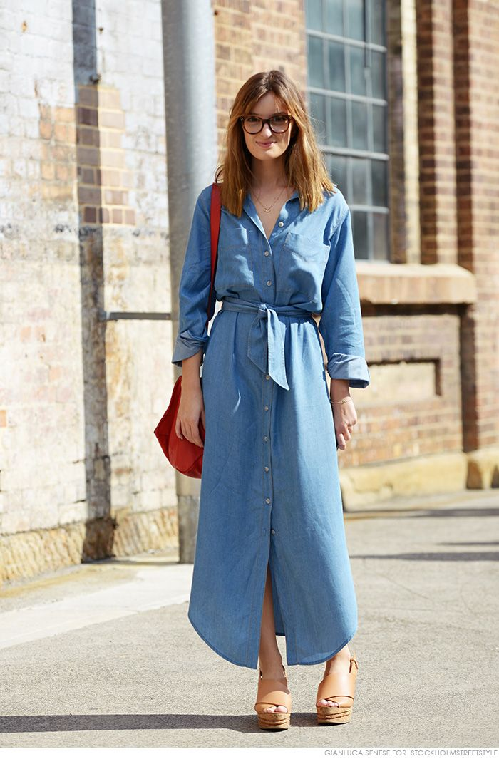 158e619fb1e5 ROSE   IVY Journal The Perfect Chambray Dress