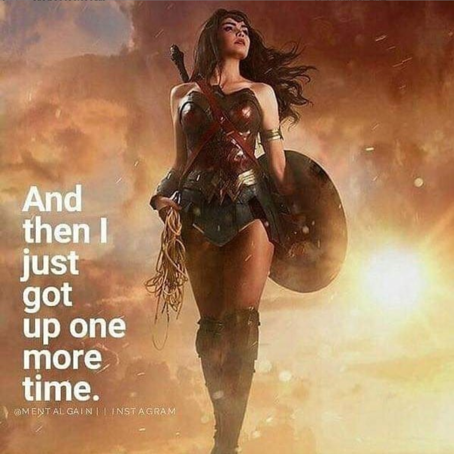 Get Up One More Time Wonder Woman Quotes Woman Quotes Wonder Woman