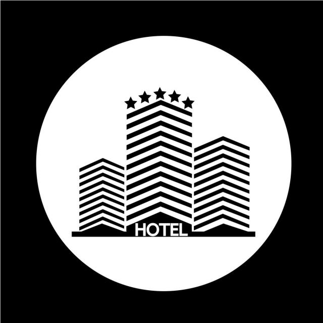 Hotel Icon Vector And Png Free Vector Illustration Vector Font Illustration