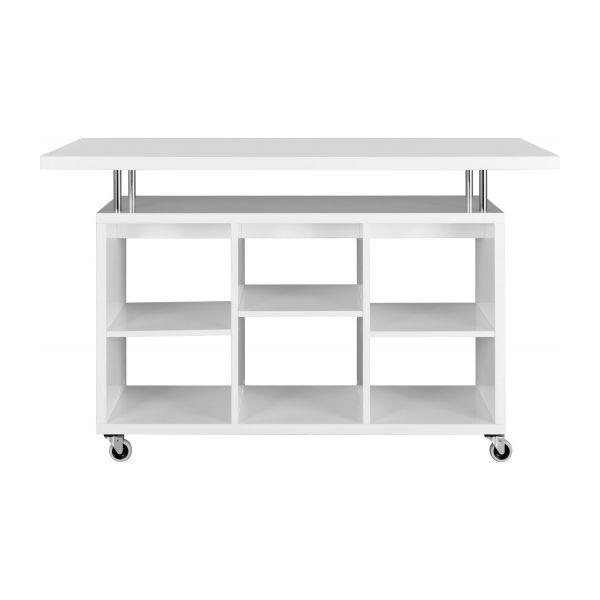 Lily Bar Roulant Grand Modele Habitat Soldes Bar Habitat Mobilier De Salon Table Roulante Element De Cuisine