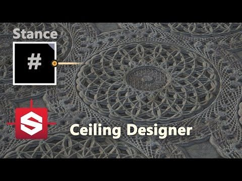 Ceiling Designer - Substance Designer Material Breakdown - YouTube
