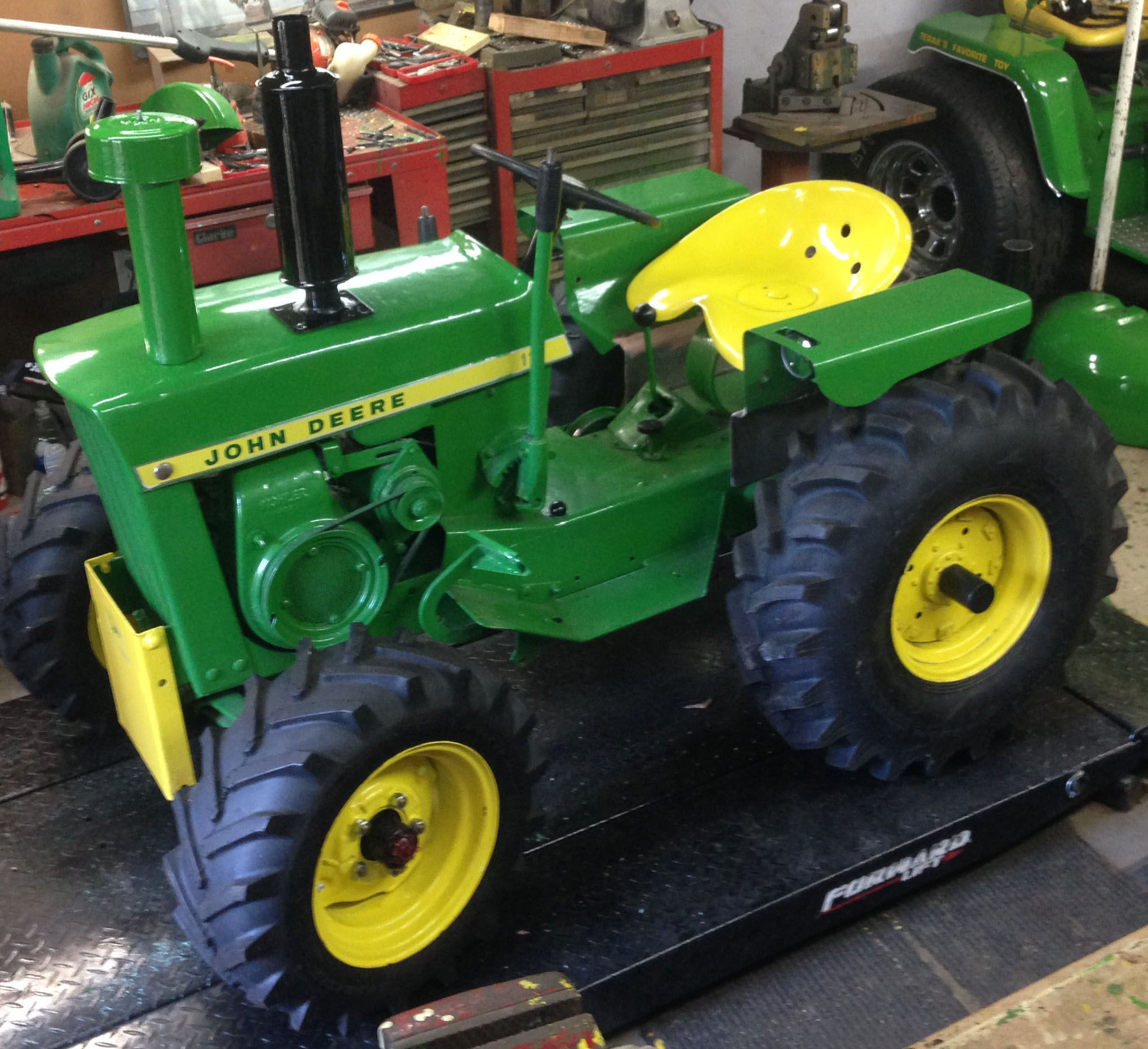 1969 John Deere 140 Wiring Diagram Thermodisc 7135 My Jd 110 Round Fender Conversion Project I Am Thinking