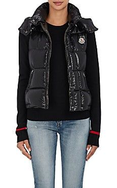 Galene Down-Filled Tech-Taffeta Hooded Vest   clothes   Pinterest   Moncler, Hooded vest and Top designers