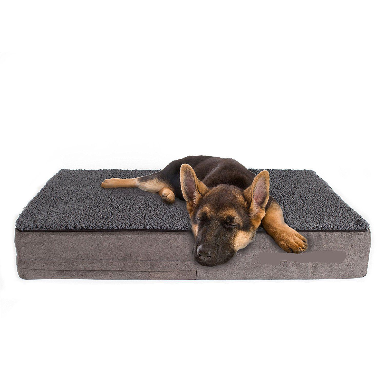 Soft warm luxury orthopedic dog bed wholesale factory