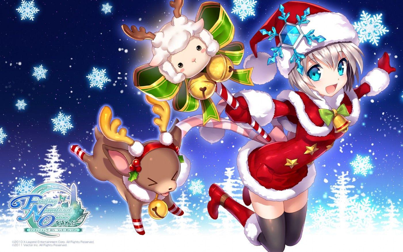 Pin By Karore On Nardack Anime Christmas Anime Anime Characters