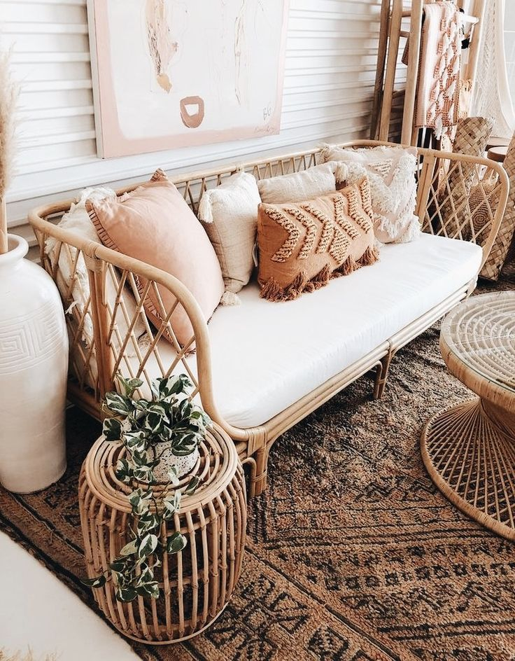 boho chic living room, wicker seating - boho chic living room, wicker seating The Effective Pictures We Offer You About decor A quality pi -