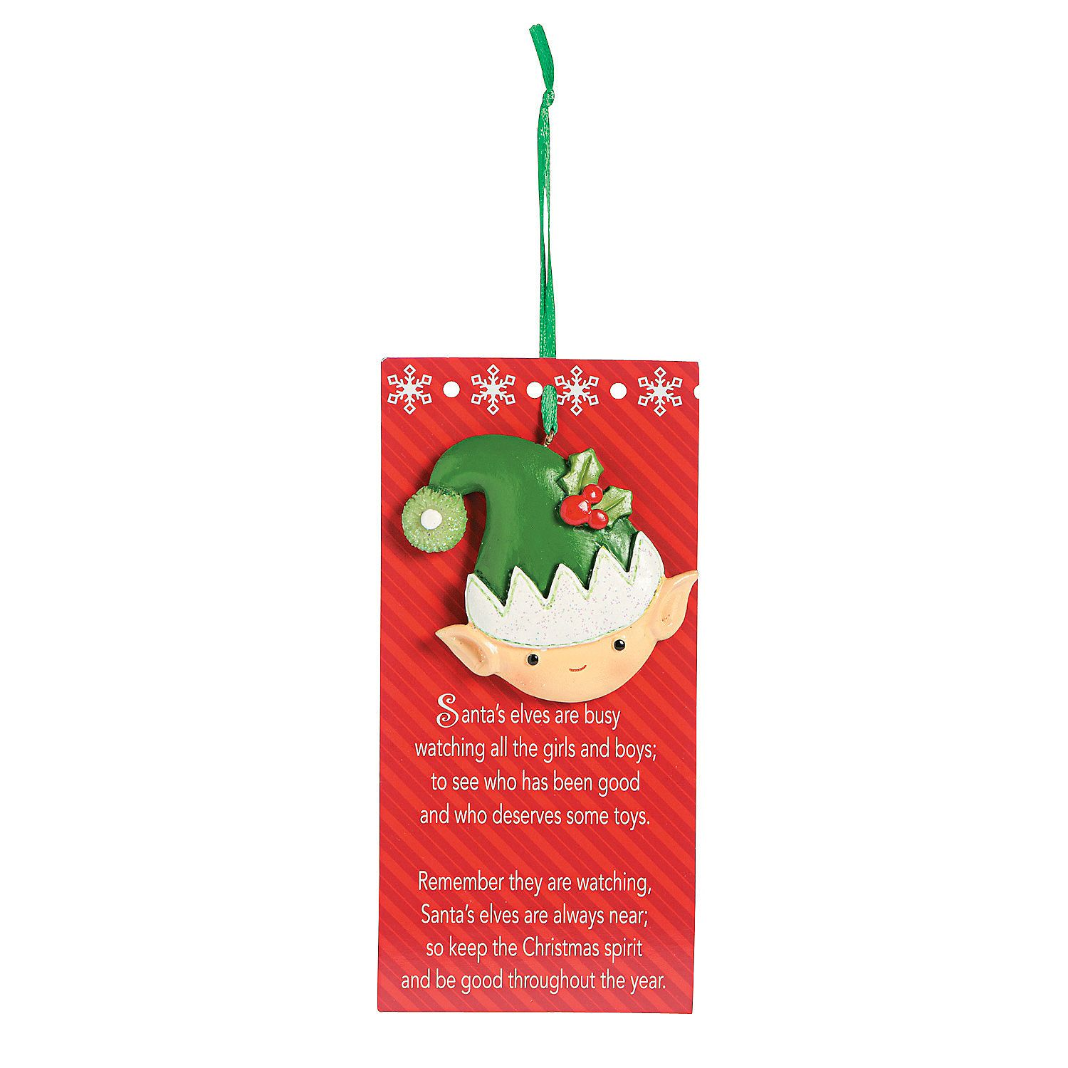 Legend Of The Christmas Tree Poem: Legend Of The Elf Ornaments