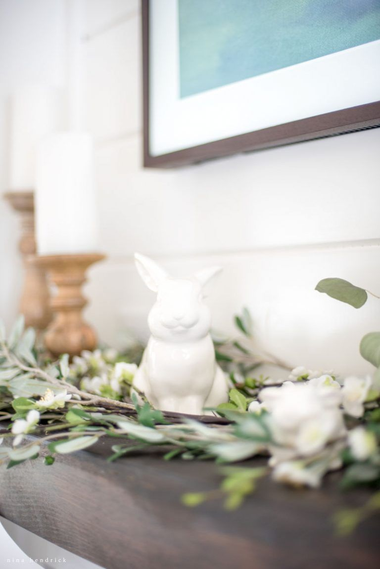 Charming Get All The Details On This Spring Mantle From Nina Hendricks Design Co.  #easter