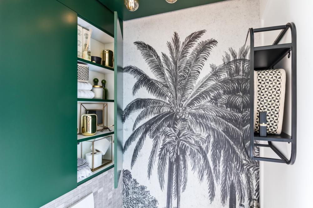 Toilet Interieur Ideeen : Tropisch toilet inspiratie en ideeën klussen verbouwen diy