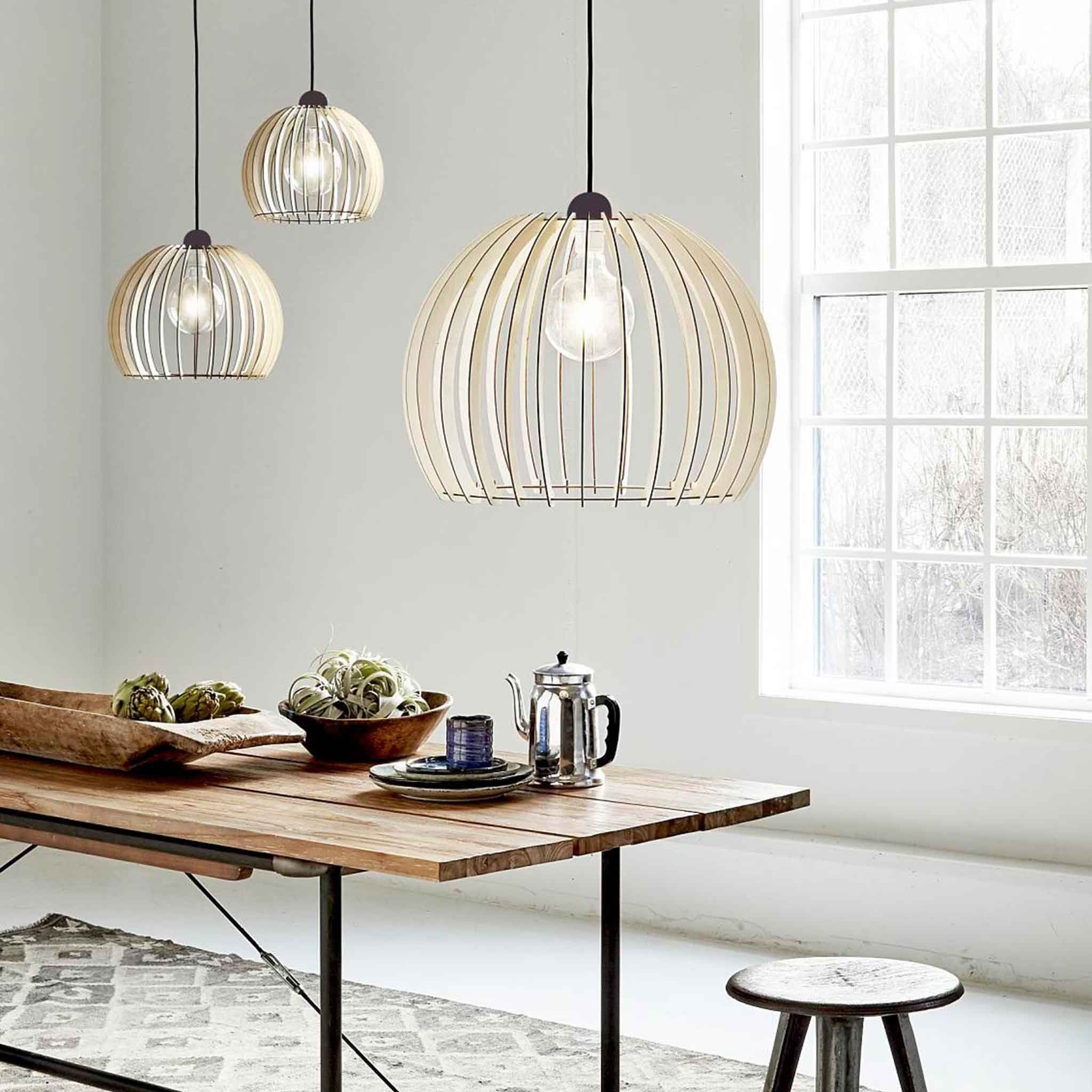 Chino large cm wooden cage pendant light pendant lighting