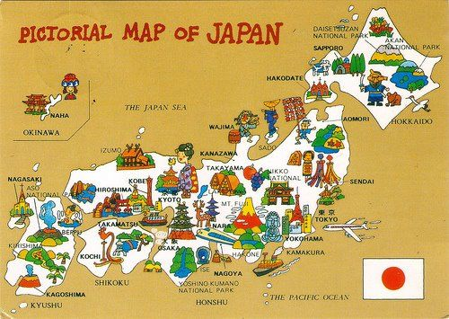 TOURIST ATTRACTIONS MAP IN JAPAN  Map Of Images