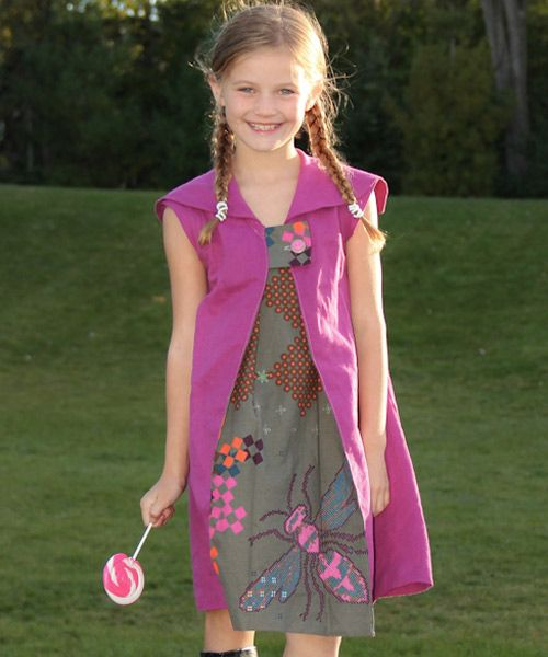 Goodship Dress sewing pattern for girls and teens | The best sewing patterns for women, girls, toys and more. Go To Patterns & Co.