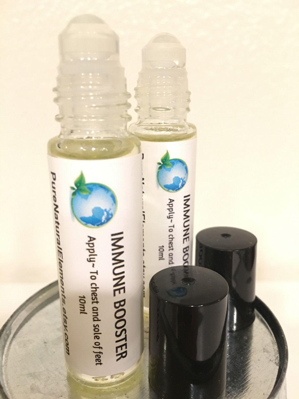 IMMUNE BOOSTER Roller Bottle Blend 10ml Essential Oil Blend by PureNaturalElements on Etsy