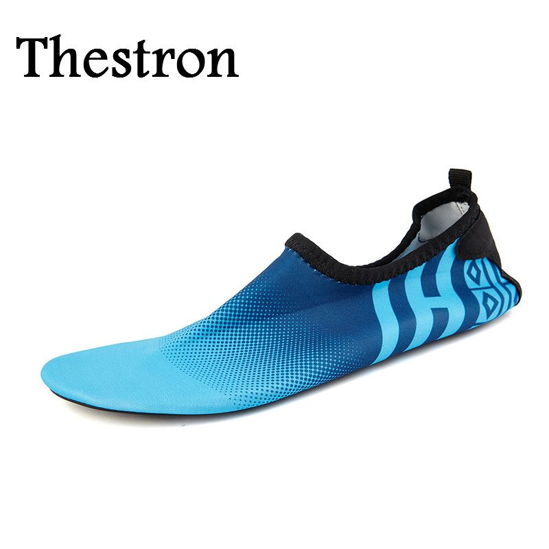 680b4926c9e5 Thestron Swimming Shoes for Men Summer Best Water Shoes Mens Portable Men  Swimming Pool Shoes Cheap