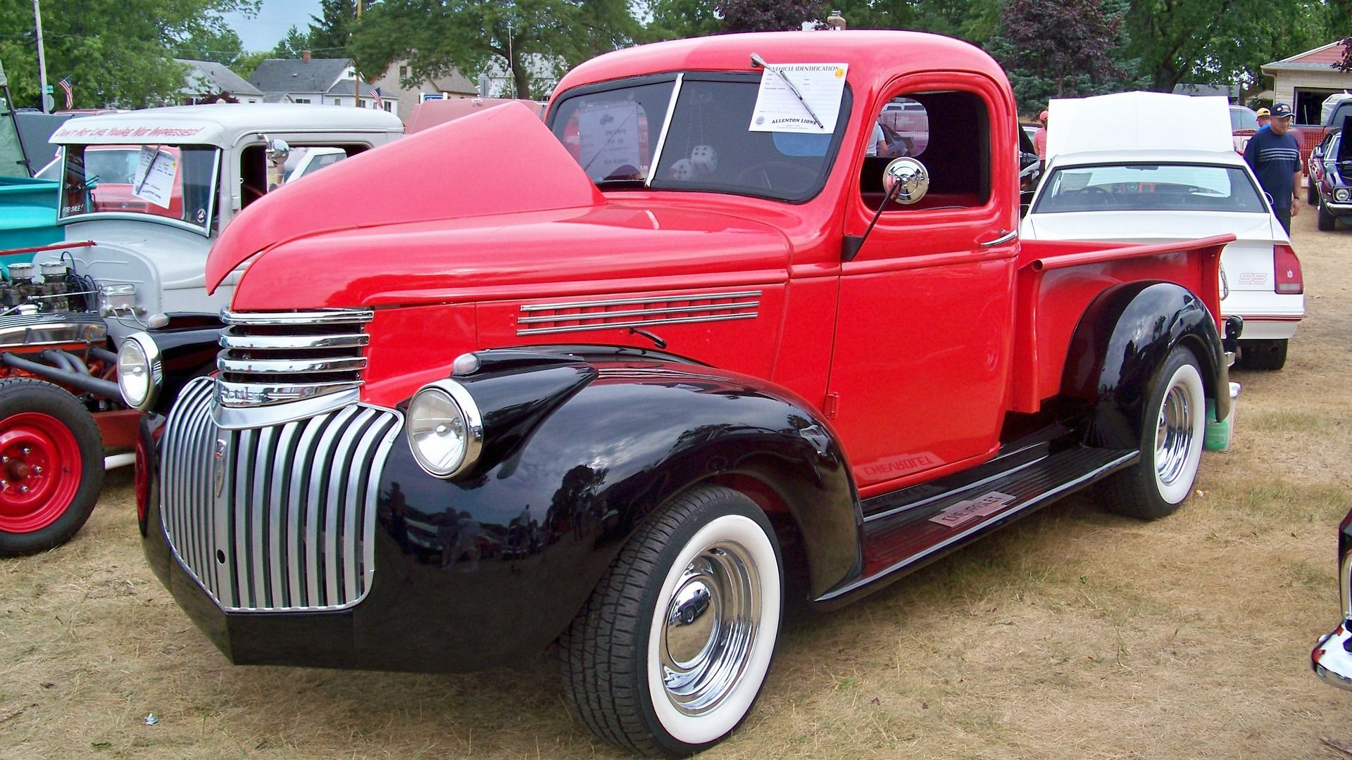 1946 chevy pickup Maintenance/restoration of old/vintage vehicles ...