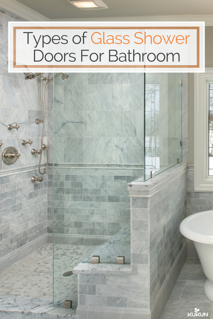 Popular Types Of Glass Shower Doors For Modern Bathrooms Glass