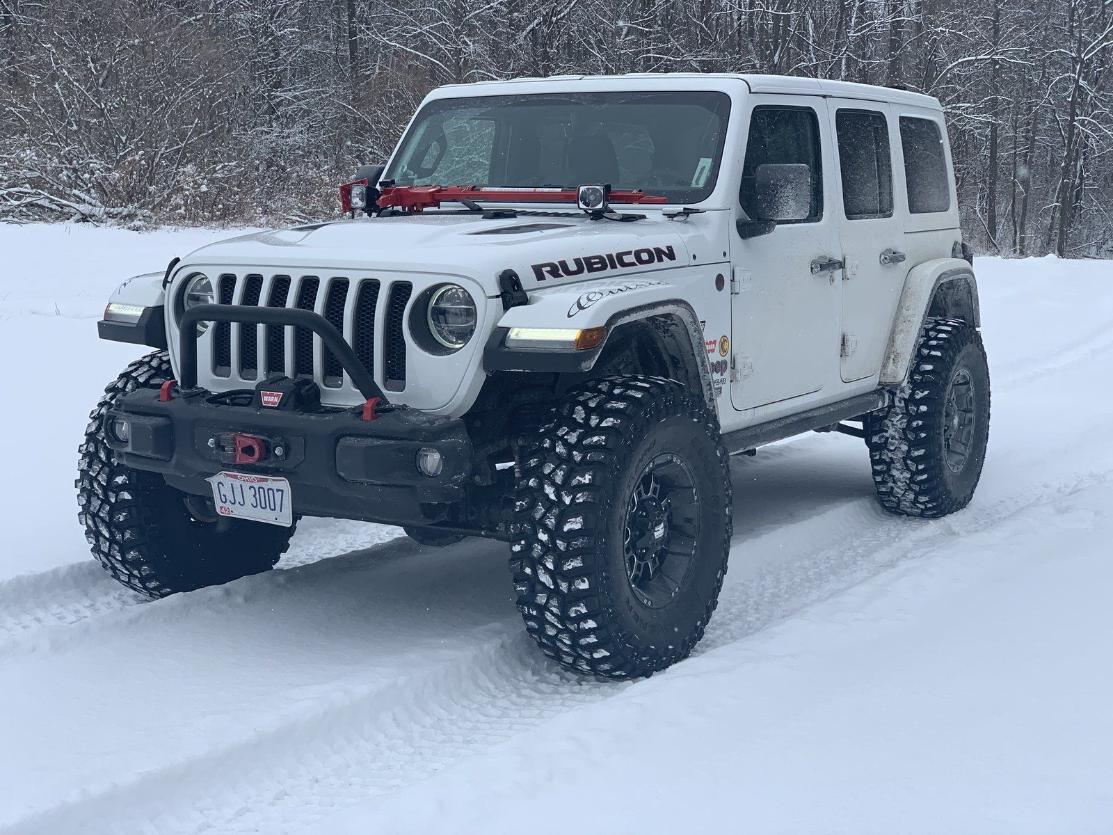 Jeeps In Snow Post Pics Jeep Jeep Wrangler Forum Jeep Scout