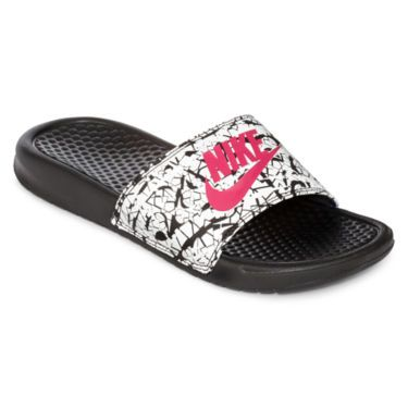 48dcfa66a30c Nike® Benassi Athletic Sandals - JCPenney