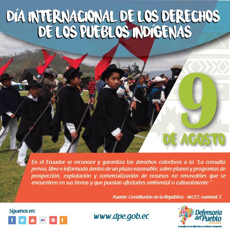 Pin By Defensoría Del Pueblo Ecuador On Día Internacional De Los Derechos De Los Pueblos Indígenas