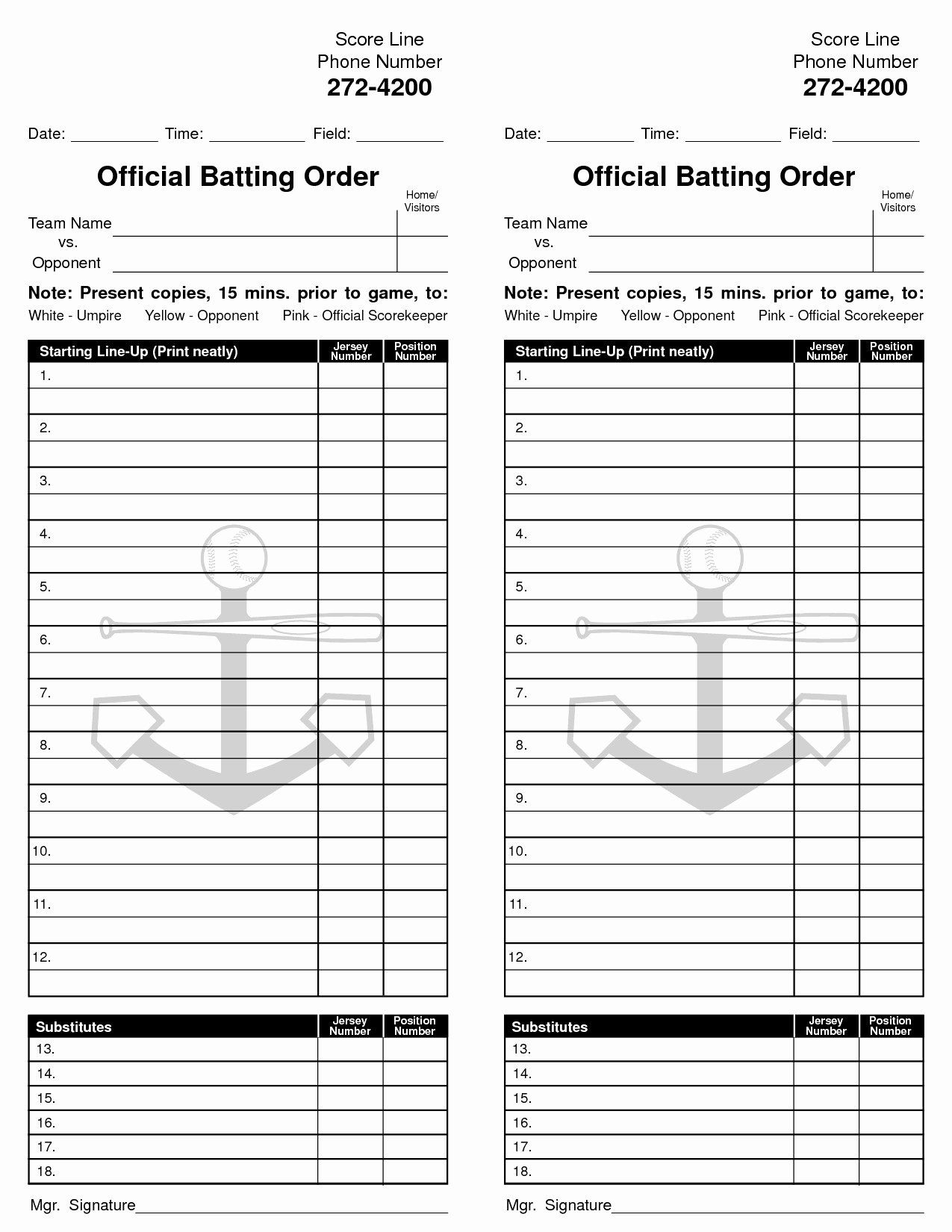 Baseball Lineup Cards Printable Mahre Horizonconsulting Co With Regard To Dugout Lineup Card Template Sample Bu Baseball Lineup Card Template Batting Order