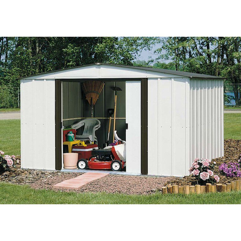 This is the shed we got for 50!! Metal storage sheds