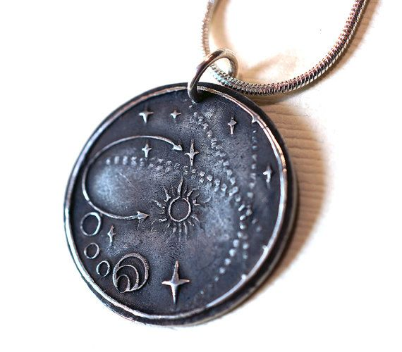 System of Origin Silver Pendant by Lorinda3LJewelry on Etsy, $75.00