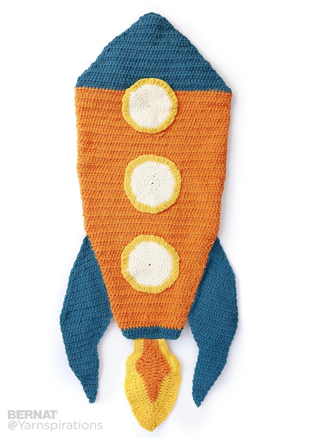 Blast Off Crochet Snuggle Sack | Mantas sirena, Manta y Cola de sirena