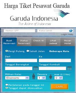 Harga Tiket Pesawat Garuda Pusat Pesawat Terbang Pesawat Tiket Penerbangan