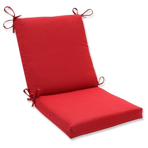 Outdoor Seat Pad Dining Bistro Cushion Red Outdoor Seat Pads Perfect Pillow Outdoor Chair Cushions