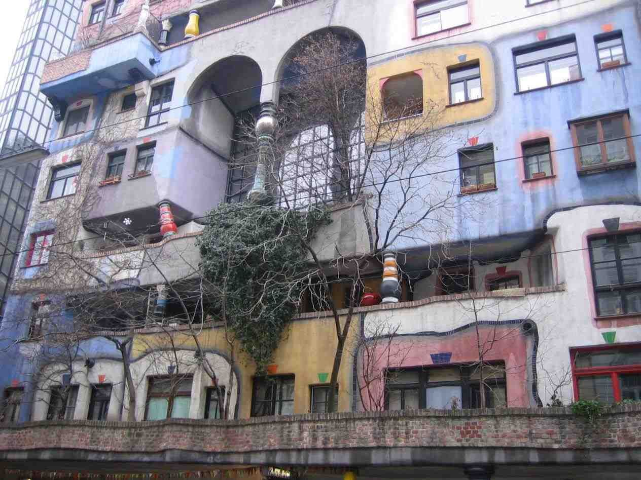hundertwasserhaus Apartment maybe you read about these