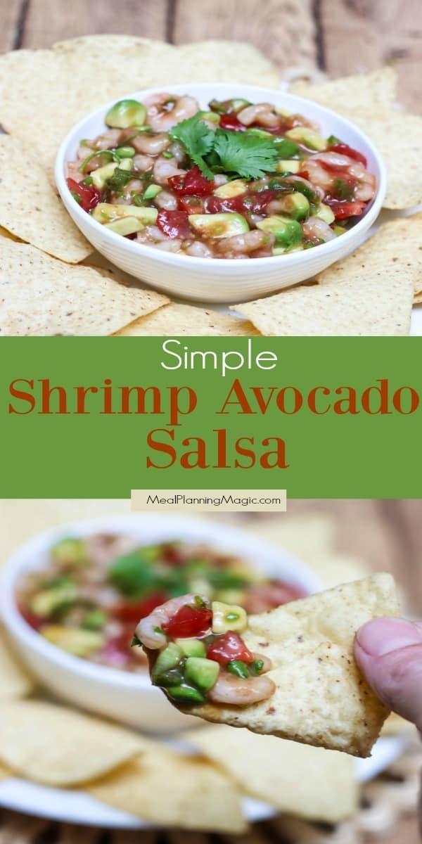Shrimp Avocado Salsa Recipe - Meal Planning Magic