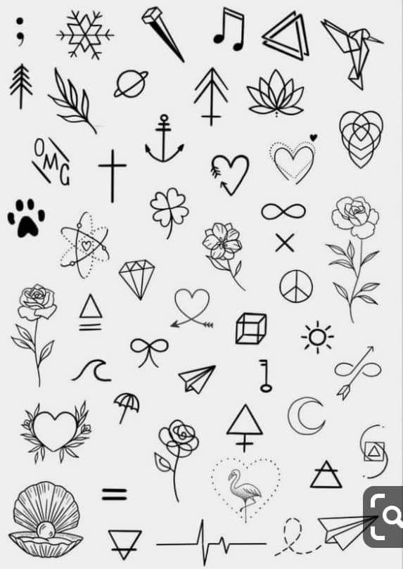 Minimalist tattoo designs #minitattoos