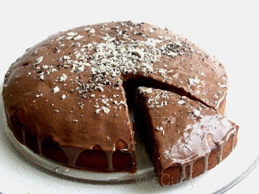 Vegan chocolate cake recipe coffee