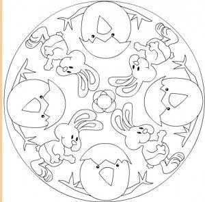 Easter Mandalas Mandala Coloring Pages Coloring Pages Inspirational Easter Coloring Pages