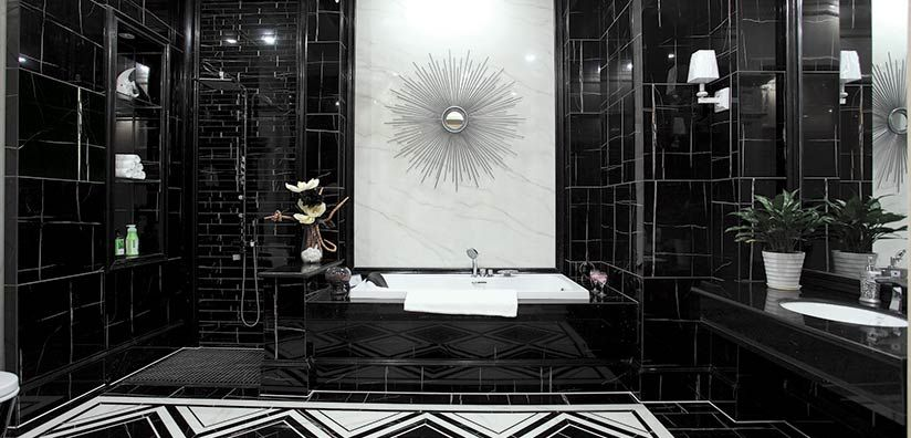 Marble Look Laurent Black 12x36 Pnfcanada Residential Tile Commercial Tile Marble Look Tile