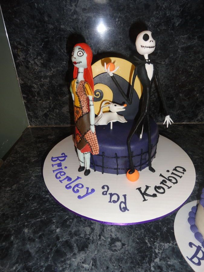 Nightmare before Christmas cake Fun-tastic Cakes Pinterest - cake decorations for halloween
