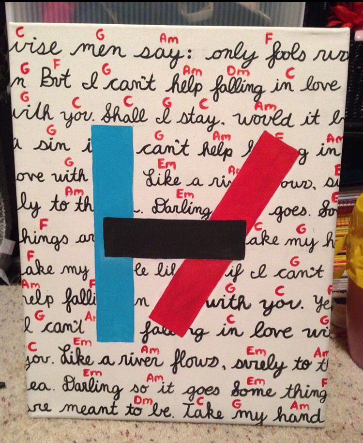 best Cant Help Falling In Love Ukulele Chords 21 Pilots image collection
