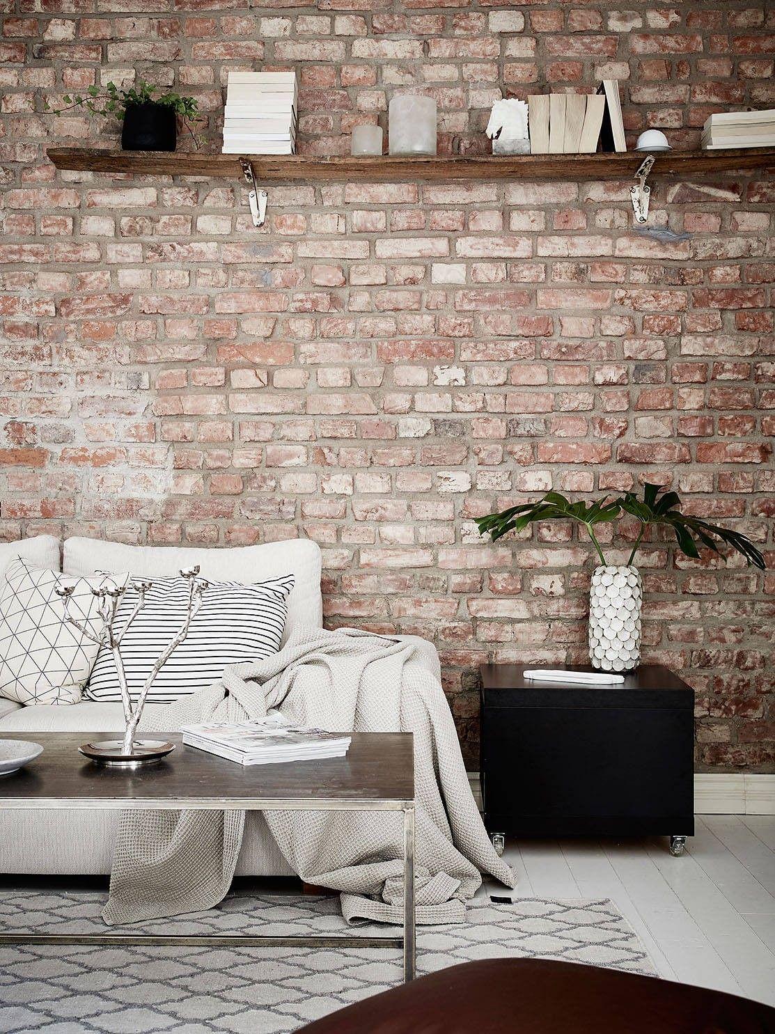 brick wall | mi armario en ruinas | bloglovin' | arredamento