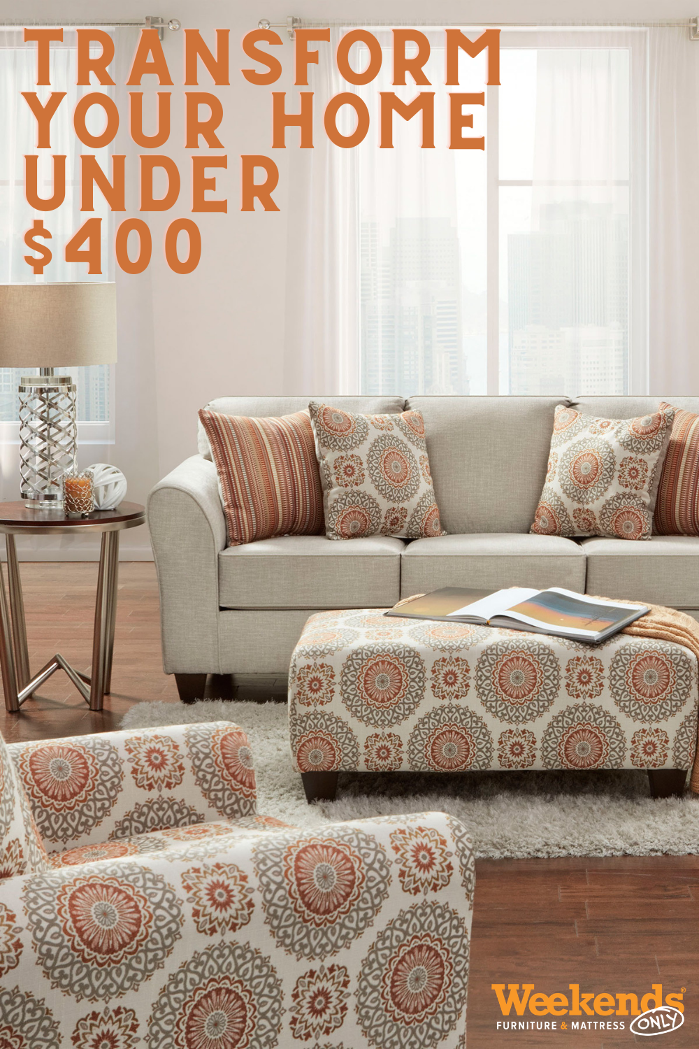 Transform Your Home for Under $4! in 4  Furniture, Living