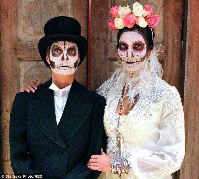 day of the dead black & white makeup | Black And White Day Of The ...