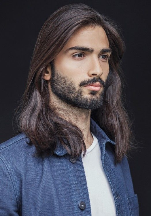 long hair men in all its splendor photo largochicos de pelo