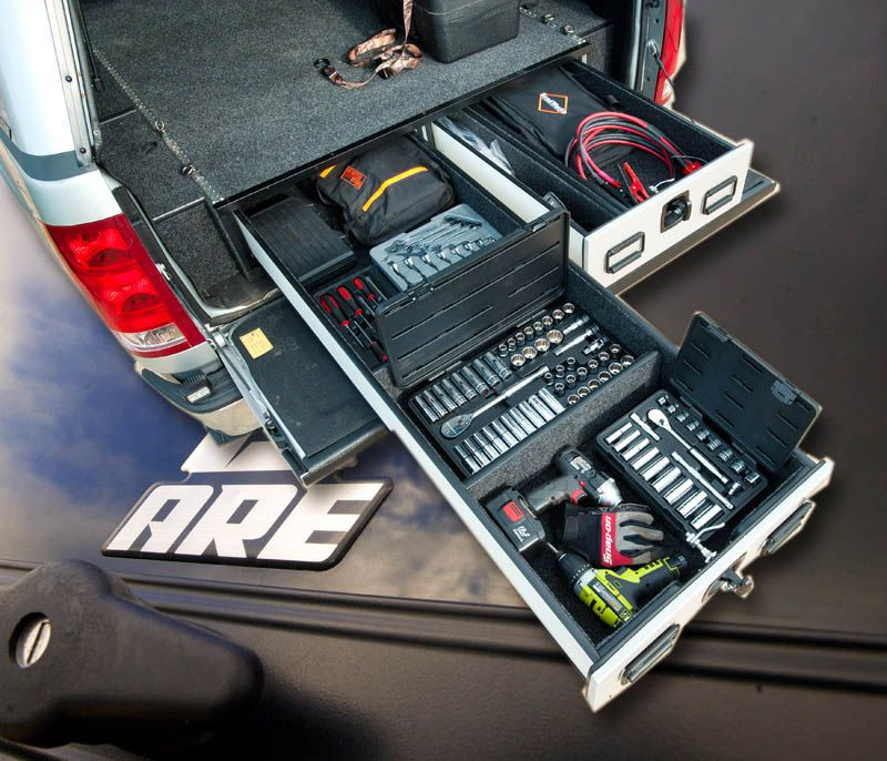 ARE Pickup Vault In Bed Storage Truck bed storage