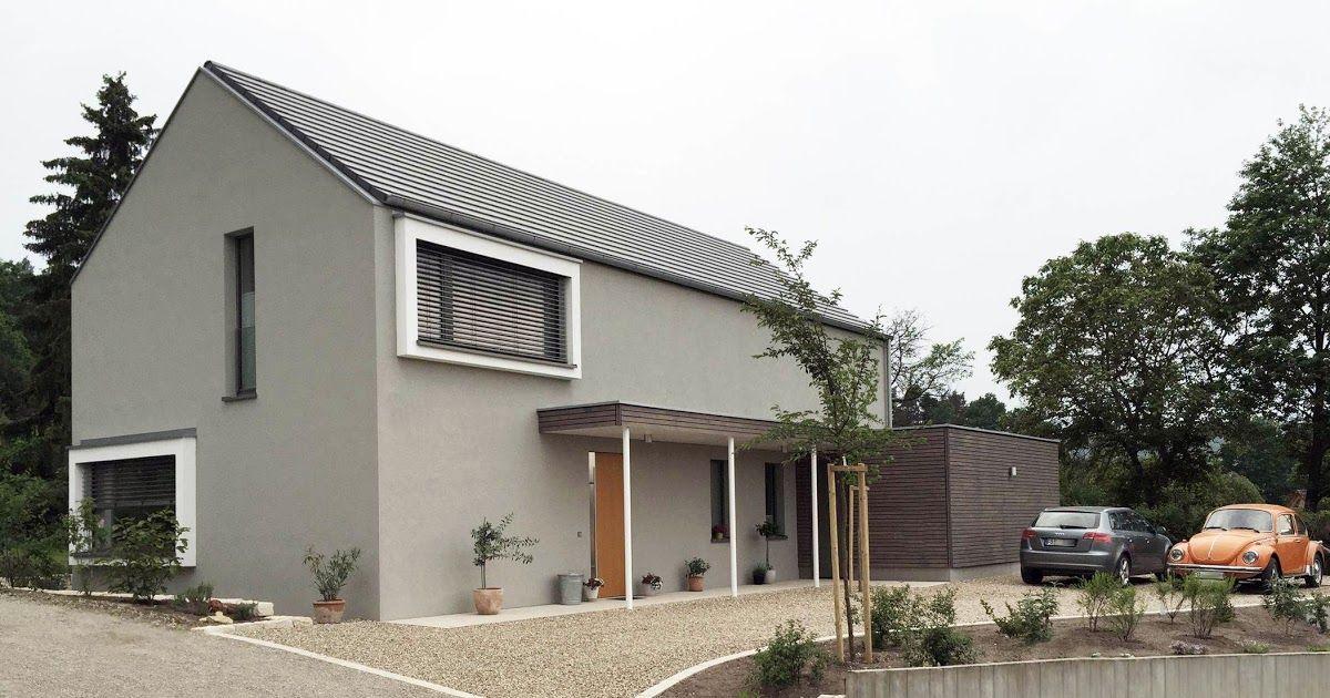 Schlüsselfertiges Massivhaus Spektralhaus: Einfamilienhaus Modern Mit Satteldach In 2019