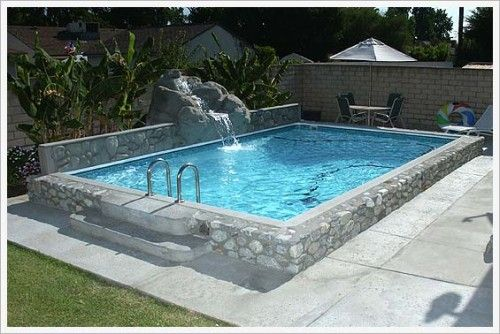 Diy pool all you need is 2 1 2 yards of concrete 1 yard - Diy above ground pool ...