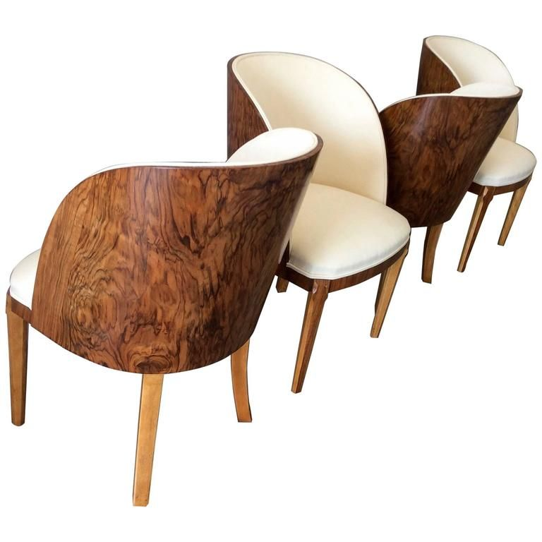 Art Deco Tub Chairs by Harry and Lou Epstein | Tub chair, Art deco ...