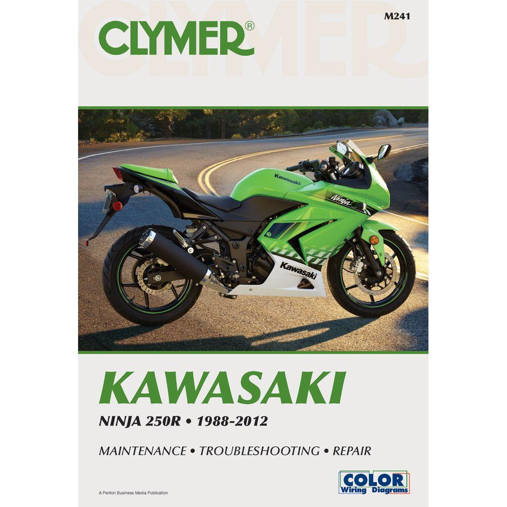Clymer Kawasaki Ninja 250R (1988-2012). Kawasaki Ninja 250rRepair ManualsPet  ...