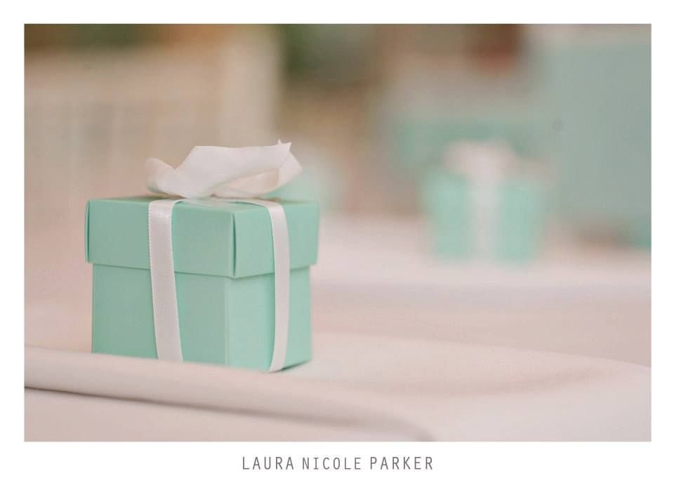 Tiffanys Wedding Favor Boxes Filled With Candy From This Day
