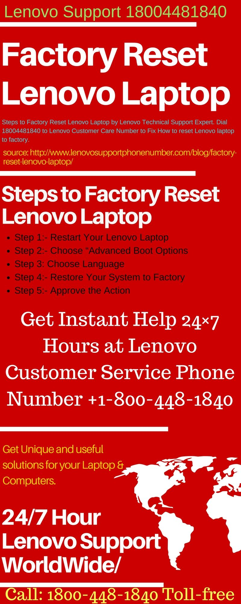 infographics learn how to factory reset lenovo laptop by lenovo technical support expert dial 18004481840 to lenovo customer care number to fix how to